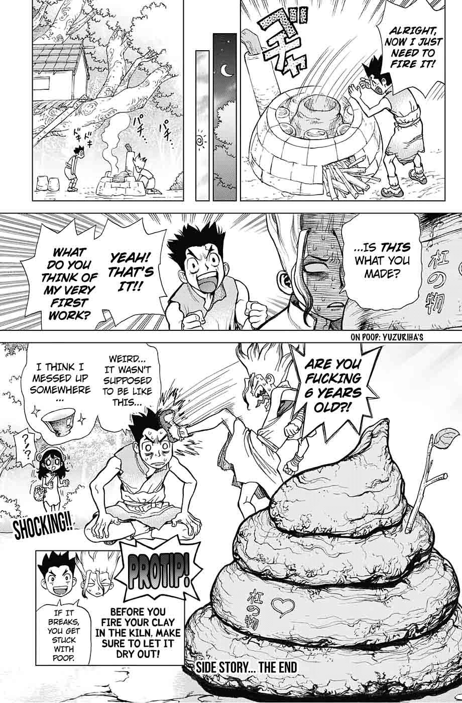 Dr. Stone : Chapter 9 - Senku vs Tsukasa image 021