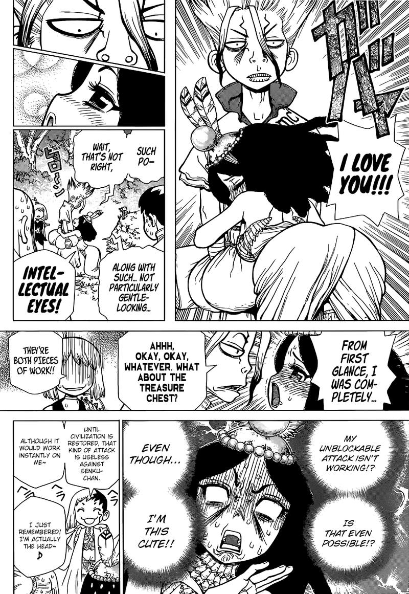 Dr. Stone : Chapter 105 - The Most Beautiful Girl On The Island image 010
