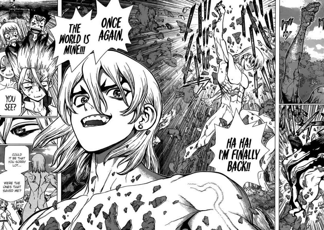 Dr. Stone : Chapter 85 - The King of Resources image 010