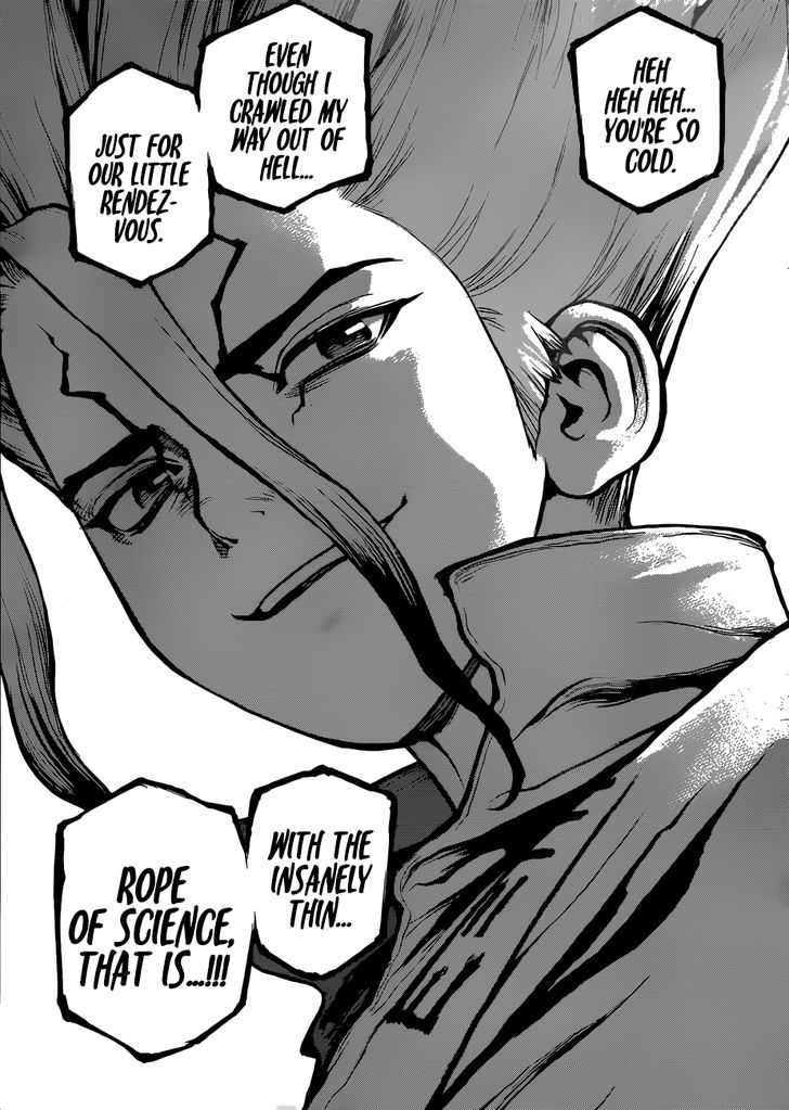 Dr. Stone : Chapter 76 image 009
