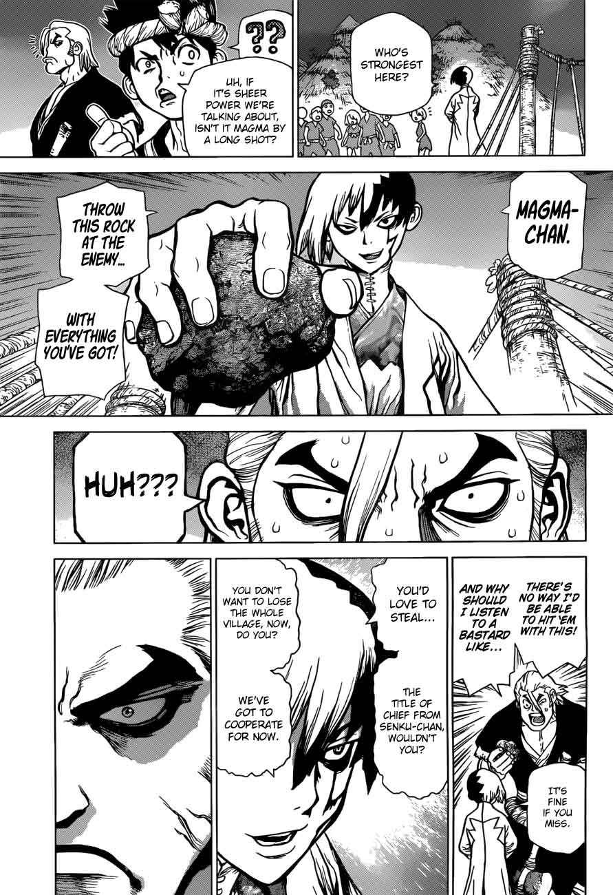 Dr. Stone : Chapter 46 - Stone Wars image 014