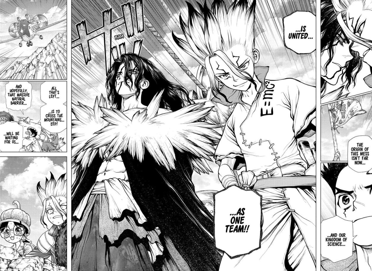 Dr Stone, chapter 179 image 015