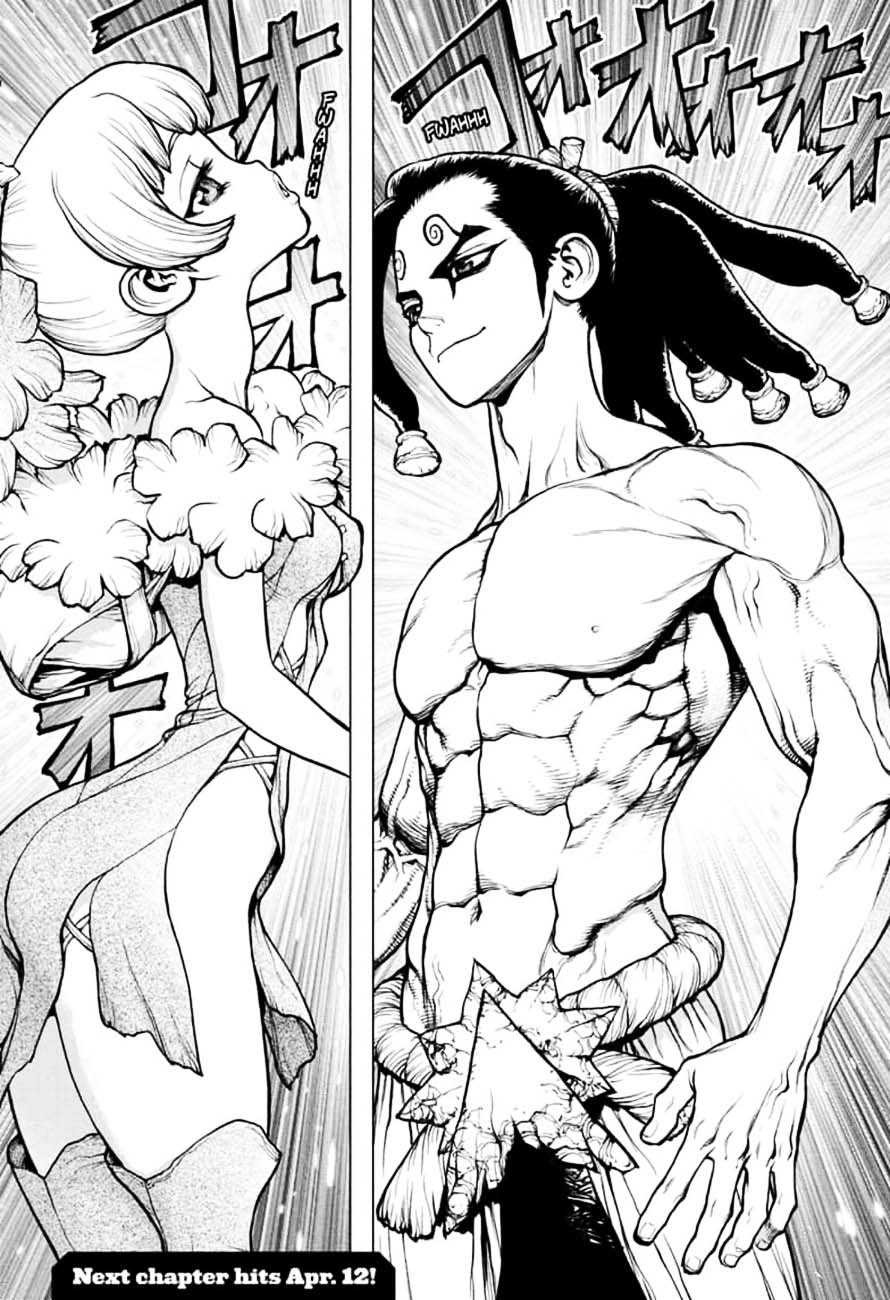 Dr. Stone : Chapter 146 - Bar Francois Bitters image 017