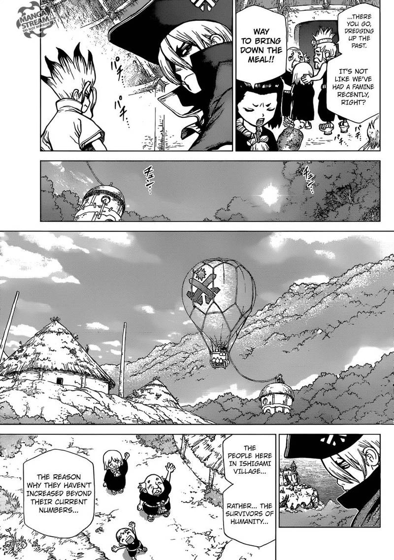 Dr. Stone : Chapter 90 - New World Map image 012