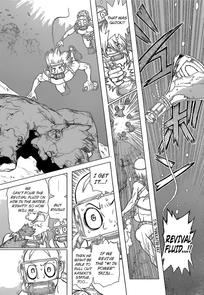 Dr. Stone : Chapter 118 - Silent Soldiers image 007