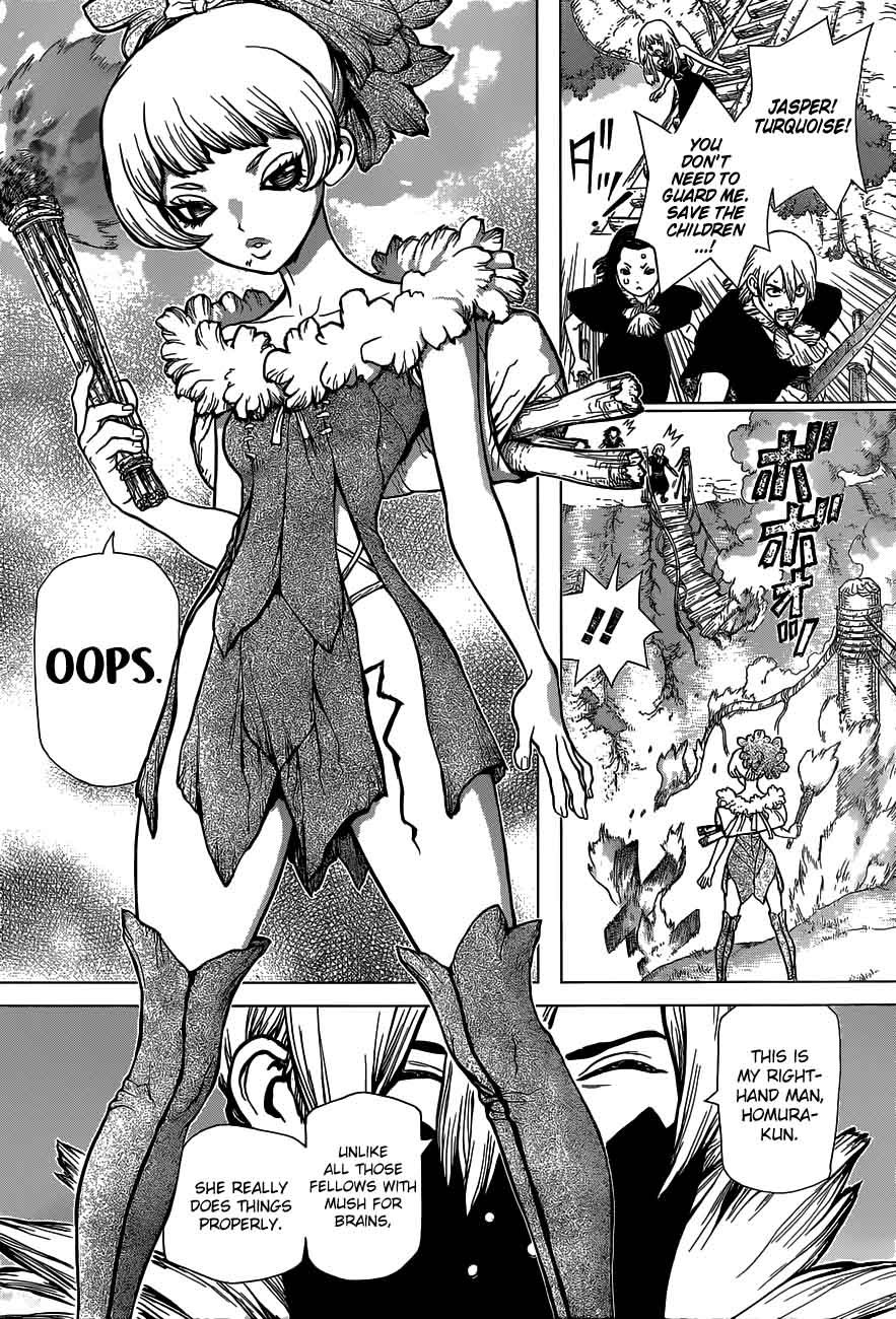 Dr. Stone : Chapter 49 - And now, to the Modern Era image 003
