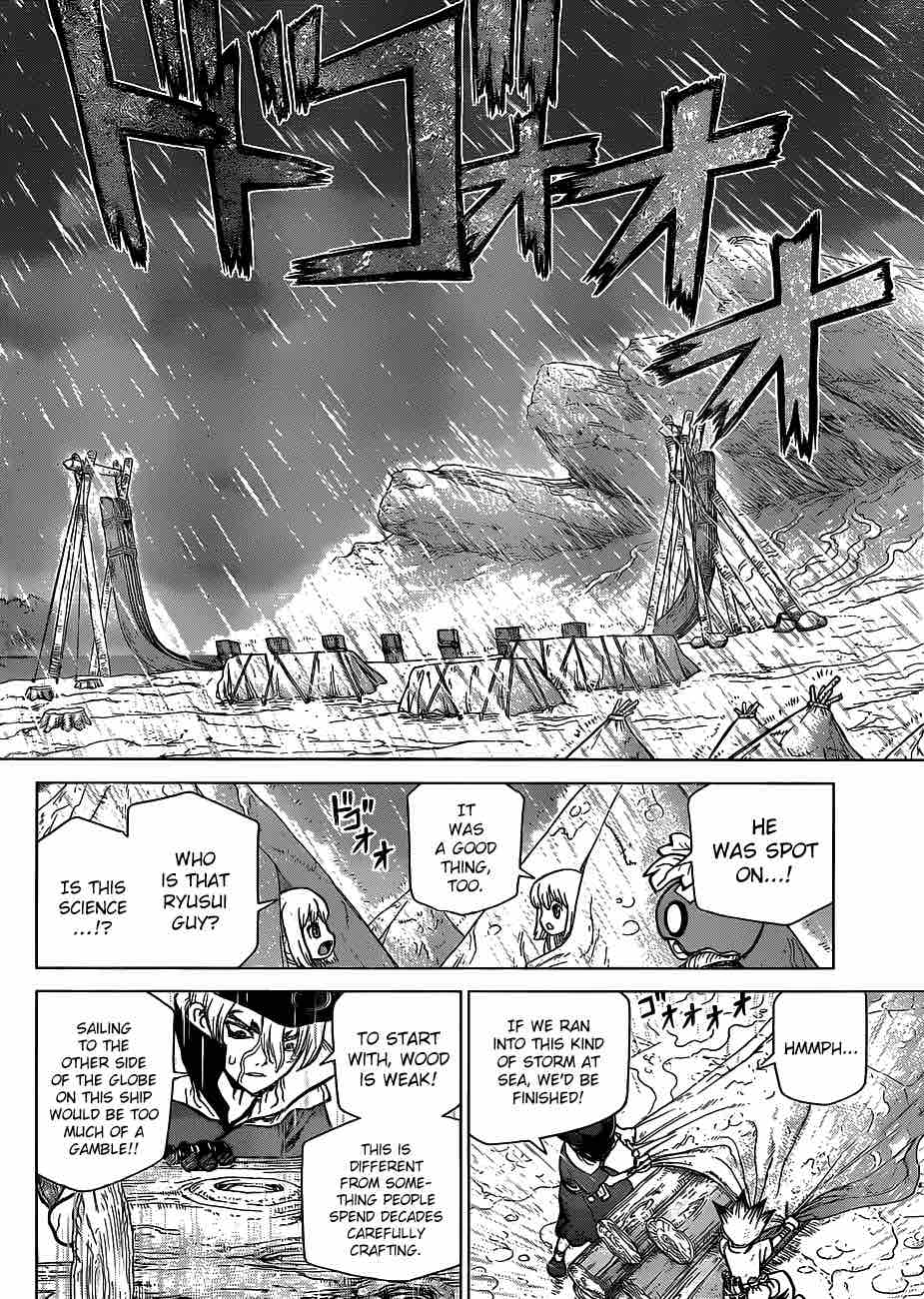 Dr. Stone : Chapter 85 - The King of Resources image 015