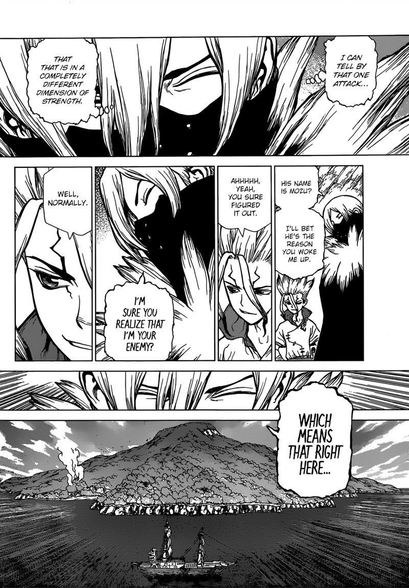Dr. Stone : Chapter 130 - The Devils Choice image 005