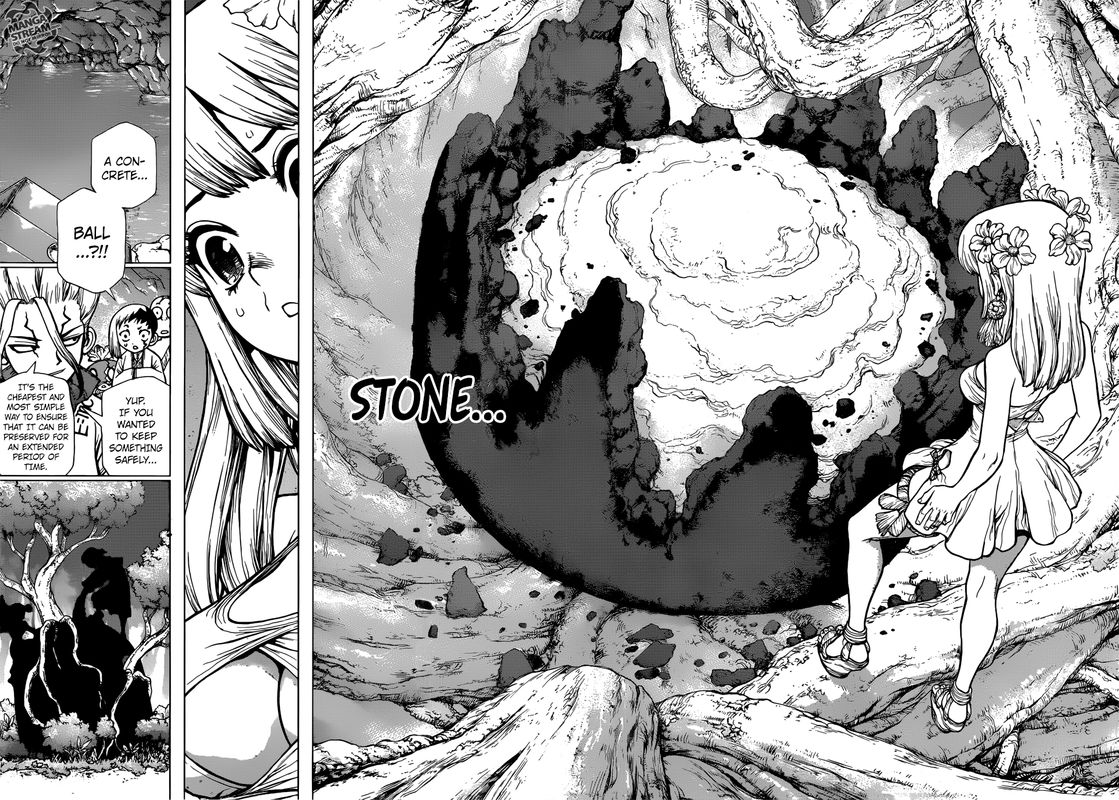 Dr. Stone : Chapter 114 - As Science Silently Bores through Stone image 004