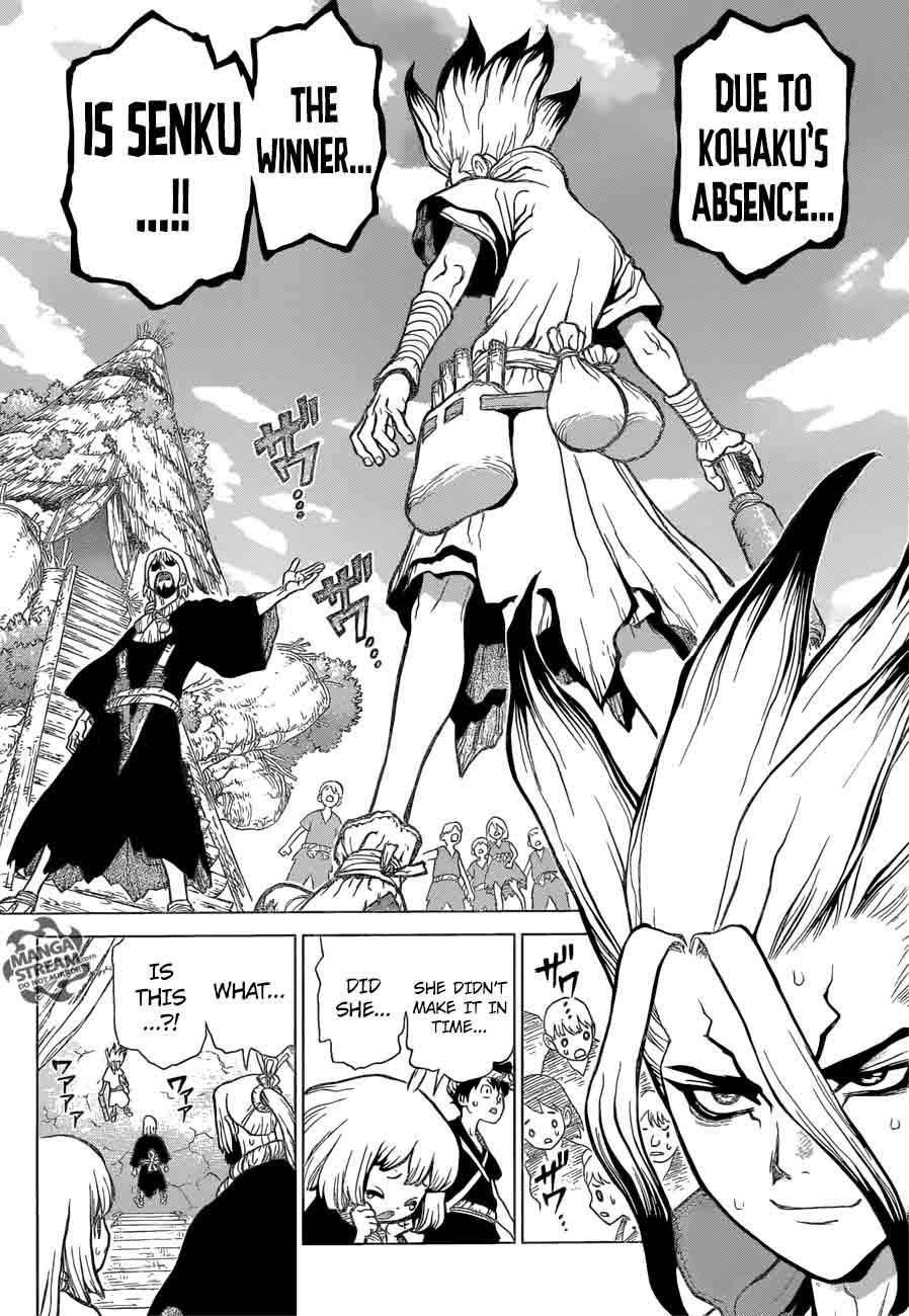 Dr. Stone : Chapter 36 - Kinrou and Ginrou image 012