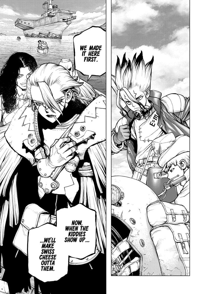 Dr. Stone, Chapter 183 image 015