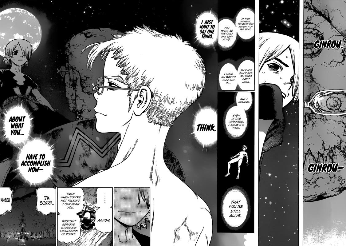 Dr. Stone : Chapter 109 - The Great Escape image 008