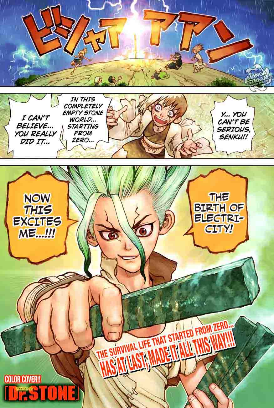 Dr. Stone : Chapter 25 - In this hand, I hold the light of science! image 002