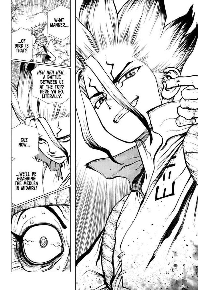 Dr. Stone : Chapter 136 - Medusa VS Science image 016