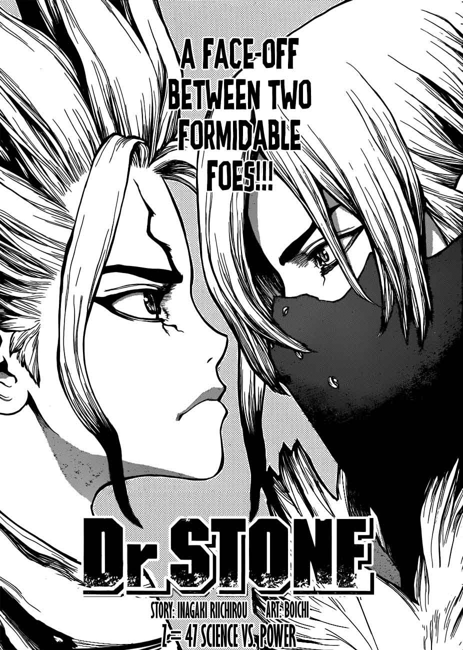Dr. Stone : Chapter 47 - Science vs Power image 001