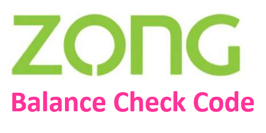How to Check Zong Balance?