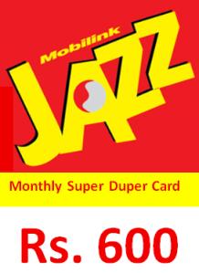 Jazz Monthly Super Duper Offer