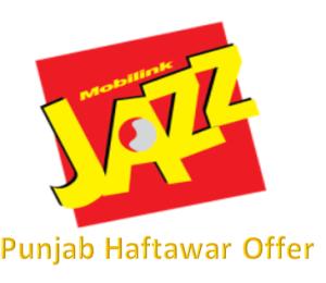 Jazz Punjab Haftawar Offer