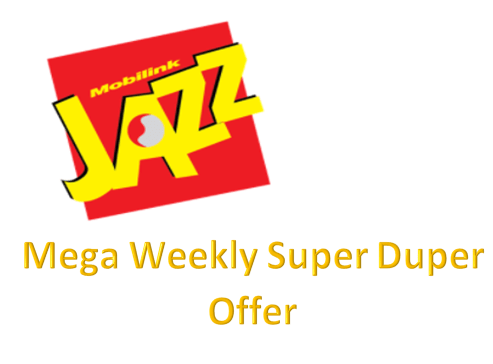 Jazz Mega Weekly Super Duper Offer