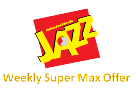 Jazz Weekly Super Max Offer