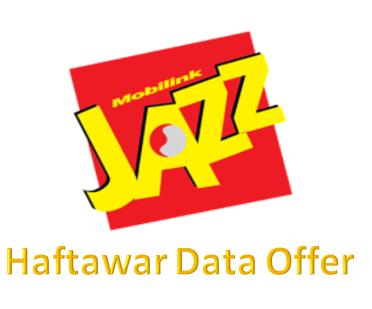 Jazz Haftawar Data Offer