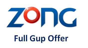 Zong Full Gup Offer