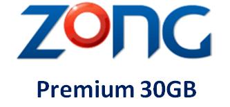 Zong Premium 30GB
