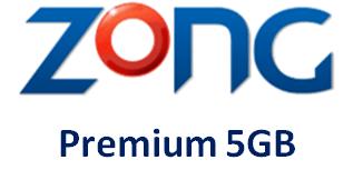 Zong Premium 5GB