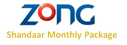 Zong Shandaar Monthly Package