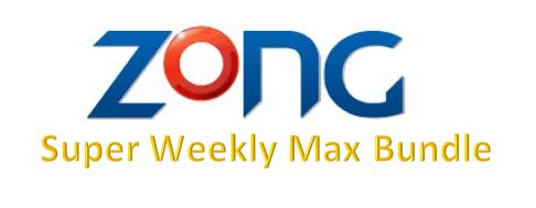 Zong Super Weekly Max Bundle