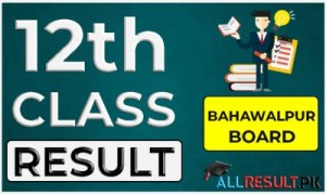 2nd Year Result Bahawalpur Board
