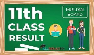 BISE Multan 11th Class Result