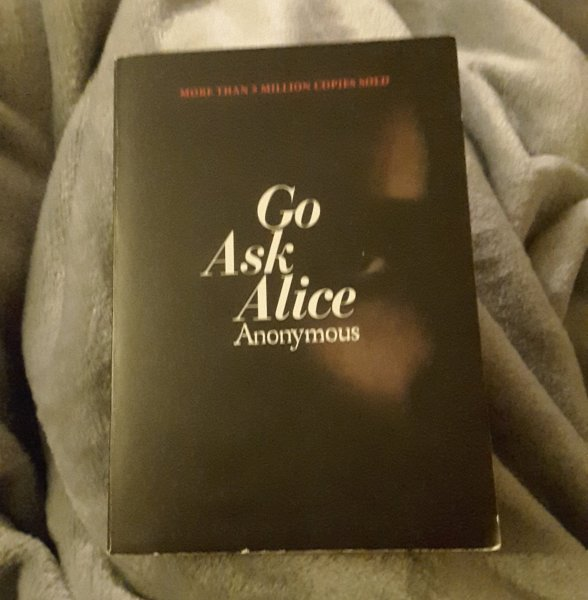 Go Ask Alice by Anonymous     Stacie Boren Poor girl struggles to get on a path and get it together  Review also  posted on Instagram  borenbooks  Library Thing  Go Read   Goodreads StacieBoren