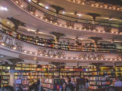 Int'l Residency 1 - El Ateneo Grand Splendid Bookstore, Buenos Aires, Argentina