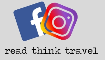 Read Think Travel contact us page social media icons facebook and Instagram