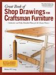Shop Drawings for Craftsman Furniture by Robert W. Lang