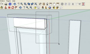 Stretch Complex Parts in SketchUp