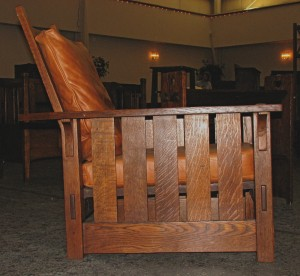 Stickley 332 Morris Chair Side