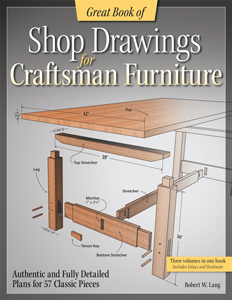 Great Book of Shop Drawings for Craftsman Furniture