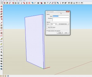Making components is a key element in SketchUp