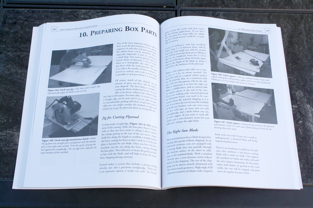 pages from Bob Lang's Complete Kitchen Cabinetmaker