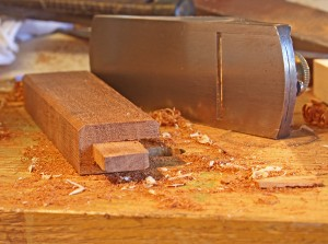 Bob Lang shapes Greene & Greene edges with block plane.