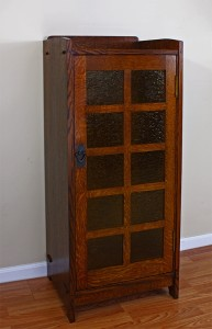 Stickley Music Cabinet Repro by Robt. W. Lang