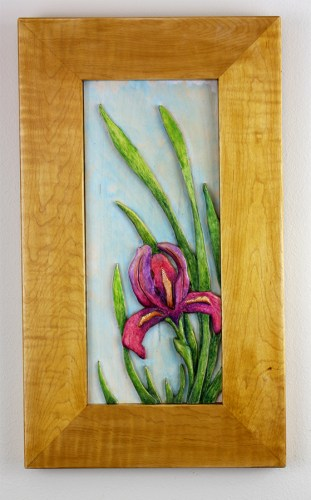 Iris Carving Robert W. Lang