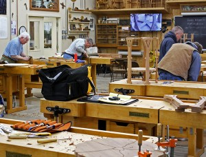 Bob Lang Poppy Table Marc Adams class