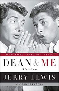 Book cover for Dean and Me by Jerry Lewis
