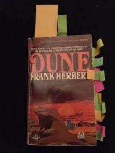 Used copy of Frank Herbert's Dune