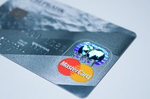 photo of debit card