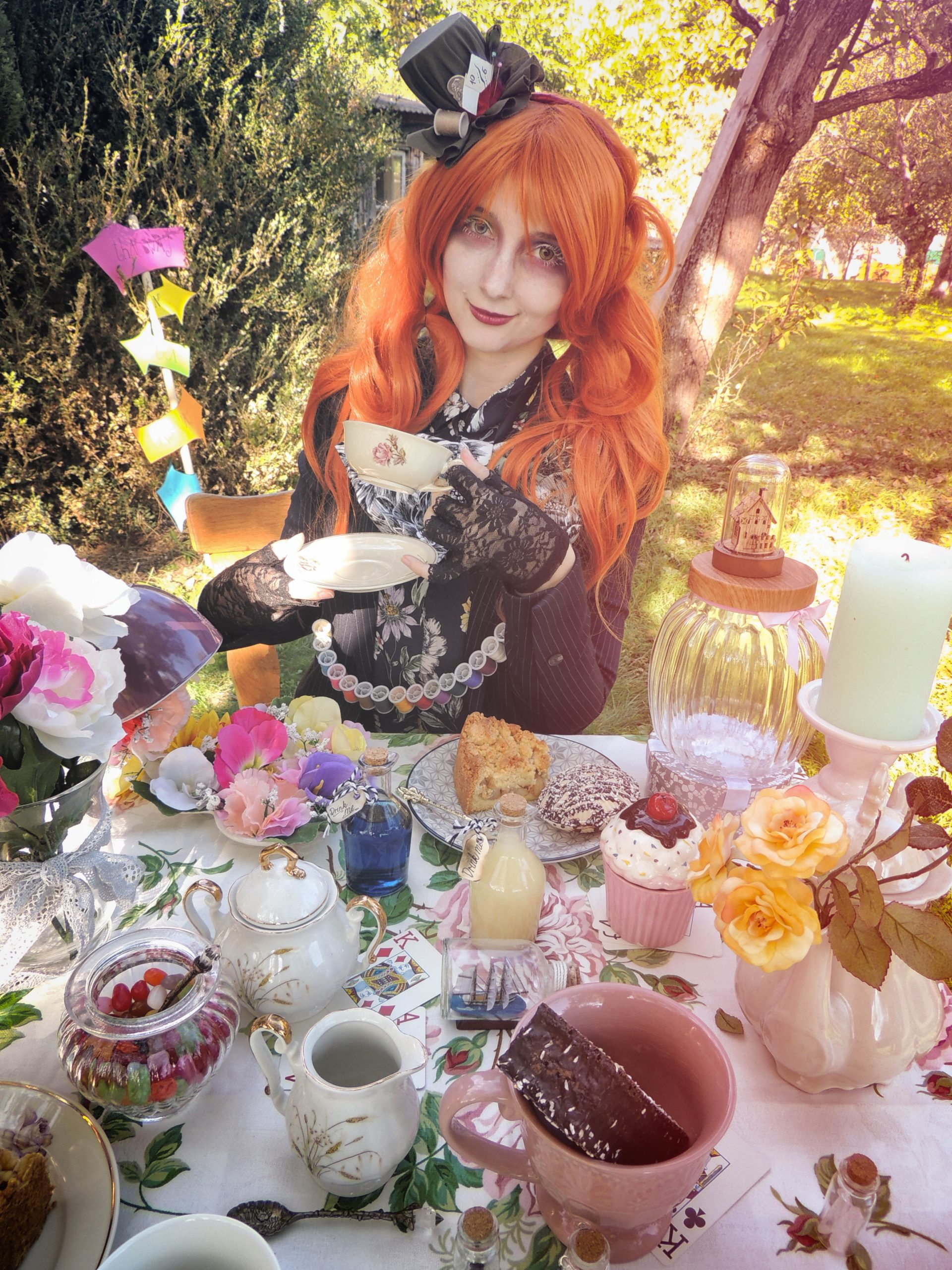 Mad Hatter Tea Party Evelyn Cosplay Unsplash