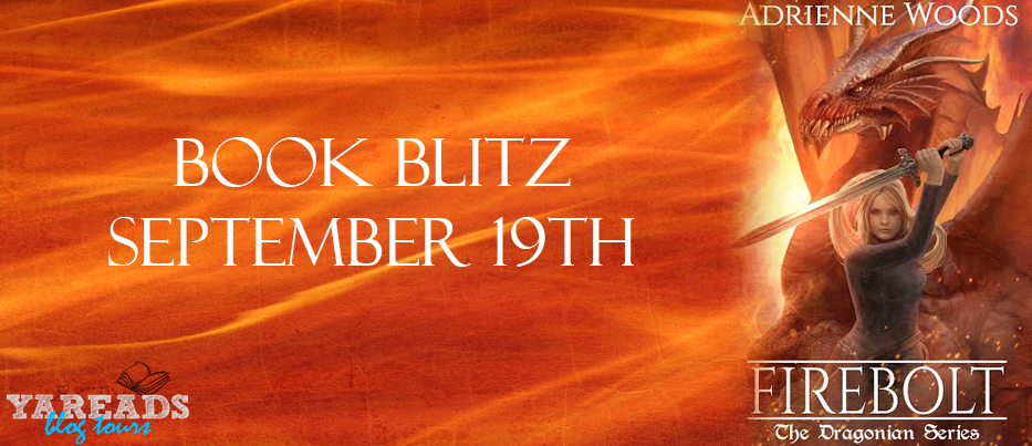 Book Blitz: Firebolt by Adrienne Woods + GIVEAWAY!!!